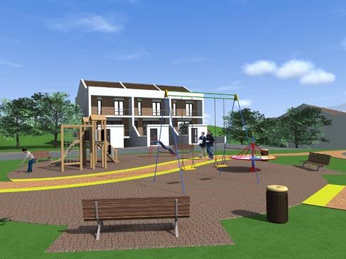 Progetti Esterni Di Case : Costruzioni e vendita case a schiera caltanissetta cl impresa di