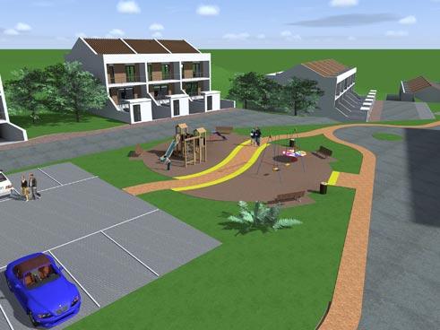 Costruzioni e vendita case a schiera caltanissetta cl for Giochi di costruzione di case 3d online