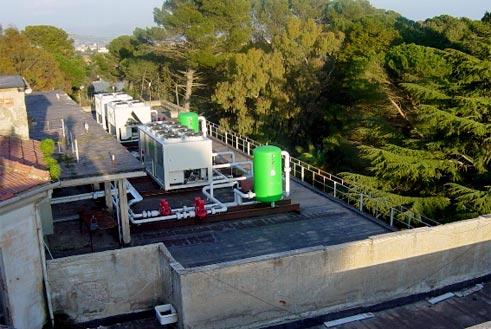 Impianto climatizzazione ex ospedale caltanissetta sicilia for Impianto climatizzazione